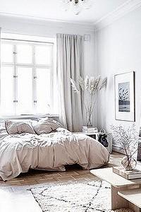 Скандинавский стиль в интерьере спальни: 50 красивых примеров
