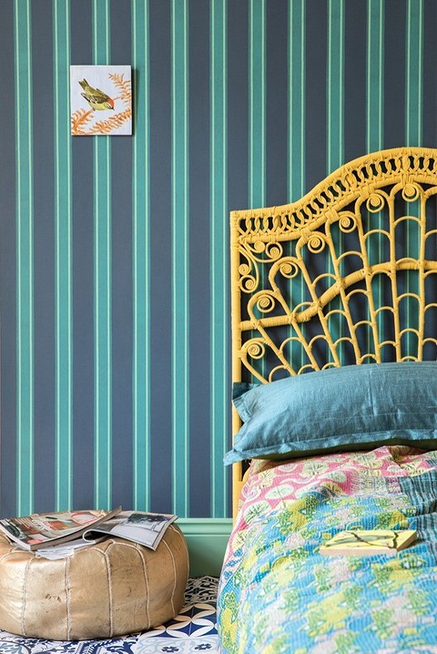 Обои Block Print Stripe, Farrow and Ball