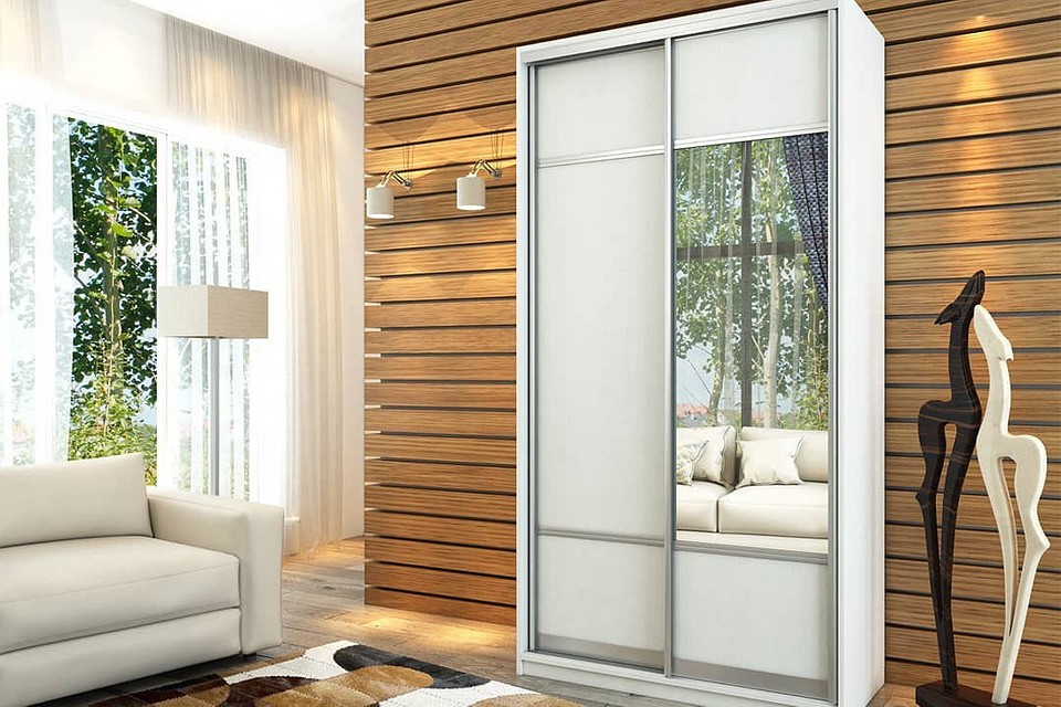 Современные шкафы-купе в гостиную: как правильно выбрать и вписать в интерьер