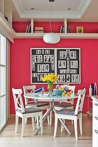 Яркая кухня с весенним настроением