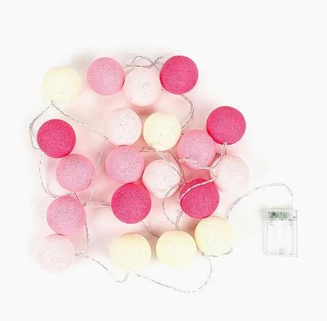 Гирлянда световая «Розовая»