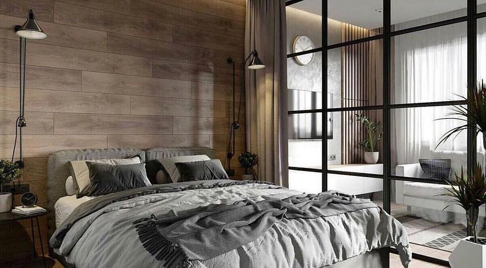 Дизайн спальни в стиле лофт: 50+ идей, которые вам понравятся