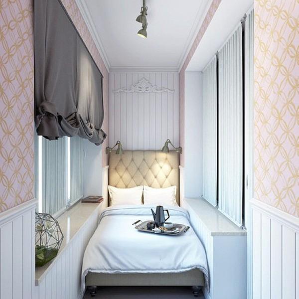 Спальня на балконе: за и против