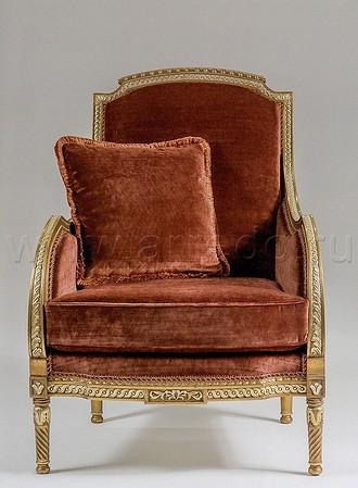 Кресло Ls XVI Belloni (углубленная резьба).