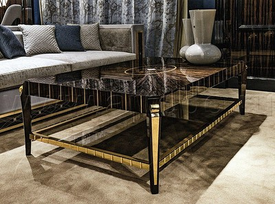 Особенности отделки итальянской мебели из массива: самые красивые техники и породы дерева