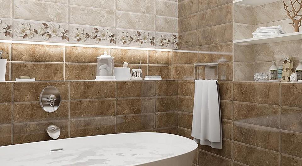 Какую плитку для ванной выбрать? Обзор решения