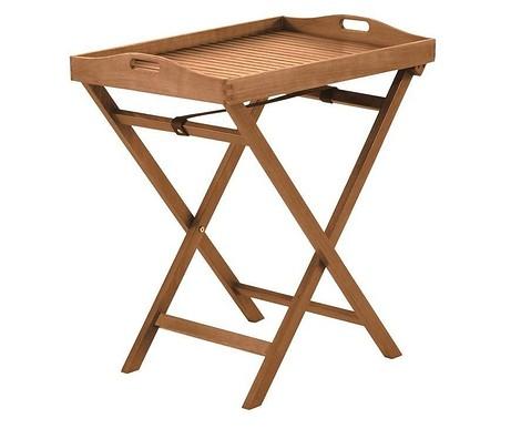 Чайный складывающийся столик из эвкалипта