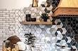 14 вариантов раскладки плитки на кухонном фартуке