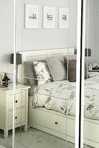 Как разместить все необходимое в маленькой спальне: 11 хитростей