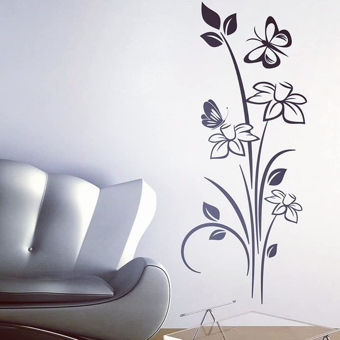 остальными рисунки которые можно нарисовать на стене в комнате если лицо