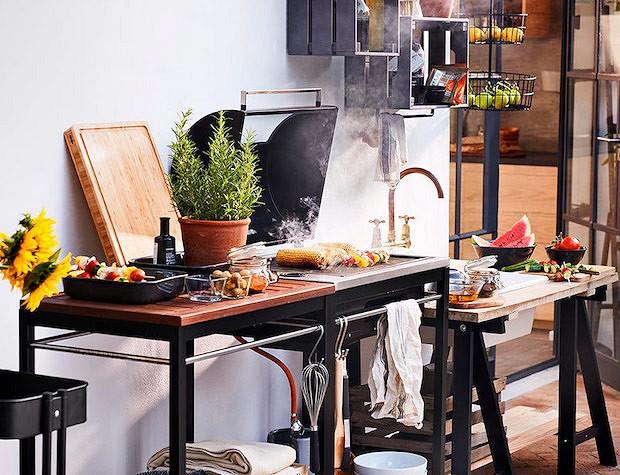 Мебель для летней кухни своими руками