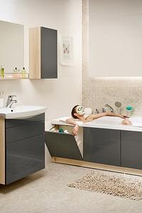Выбираем сантехнику и мебель для маленькой ванной комнаты