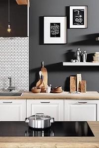 Современный дизайн стен кухни: 10идей, о которых вы даже не догадывались