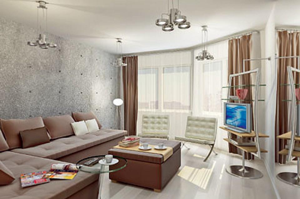 Двухкомнатная квартира в доме серии ИП-46С: Продуманный микст