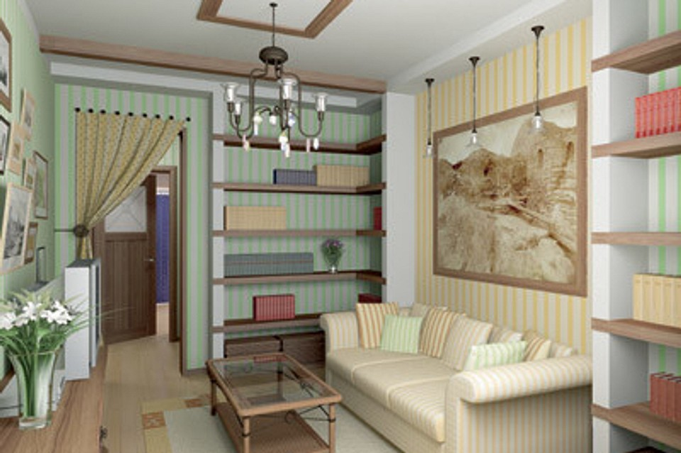 Двухкомнатная квартира в доме серии 121: Как в загородном домике