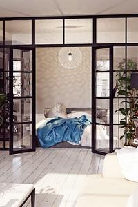 Зонирование комнаты на спальню и гостиную: 14 доступных вариантов