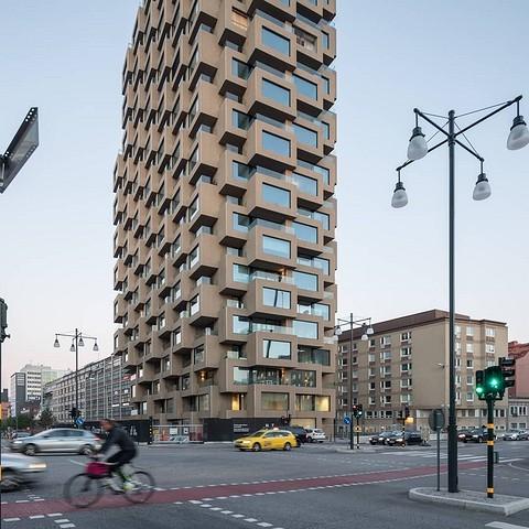 Innovationen Tower, спроектированный бюро изв ...