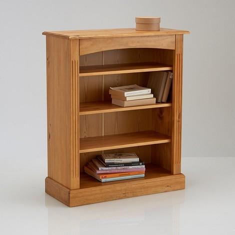 Шкаф-библиотека низкий из массива сосны, Authentic Style.