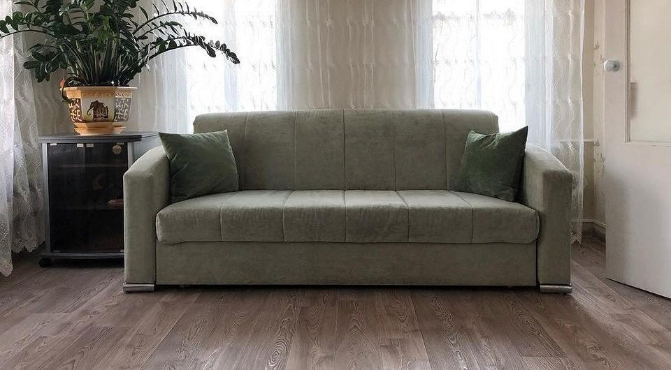 Как устроен и как раскладывается диван-аккордеон