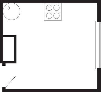 Кухни площадью 10 м2 намного удоб ...