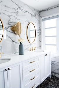 10 трендовых идей для оформления ванной