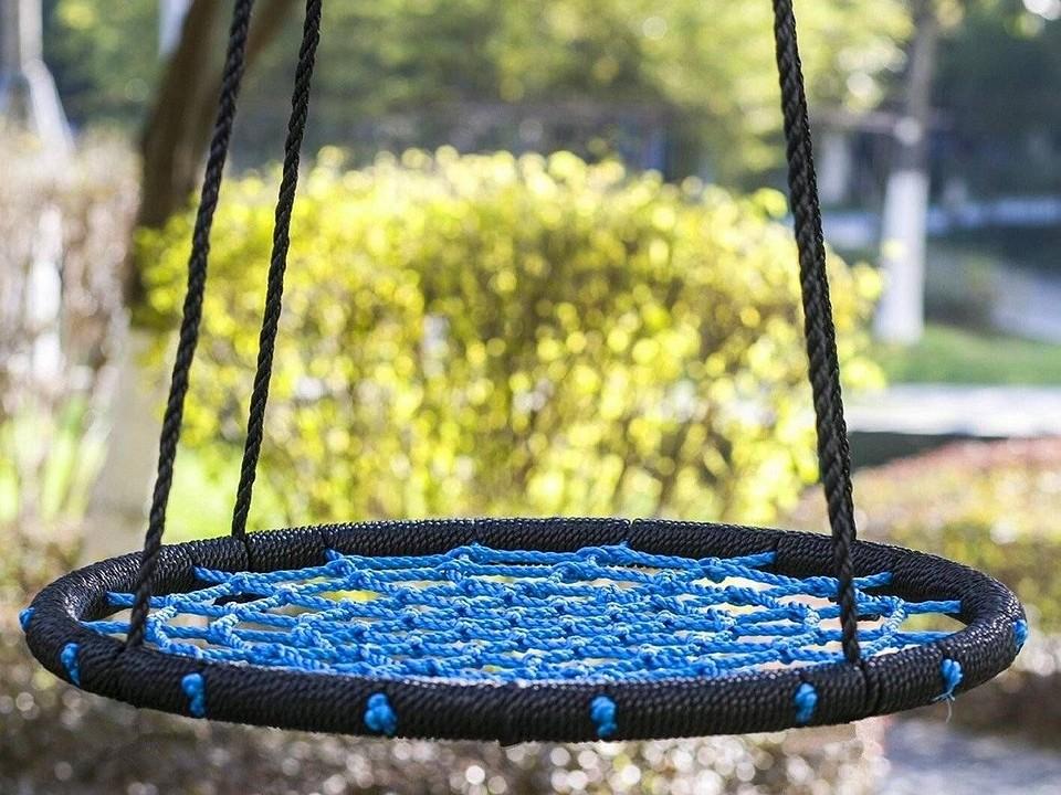 Делаем качели-гнездо своими руками: пошаговая инструкция