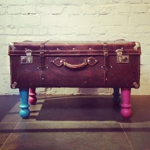 Если чемодан, ножки и крепления...