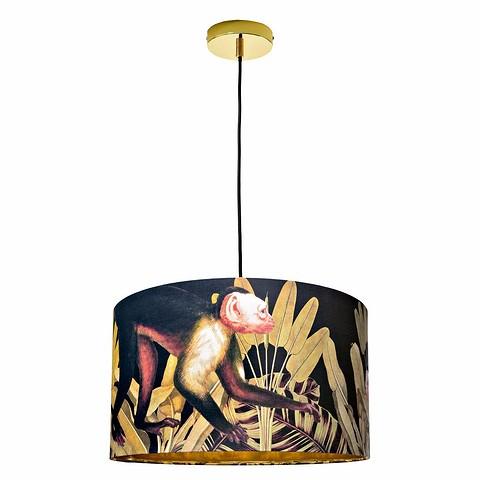 Подвесной светильник Jungle Monkey c ткане&...
