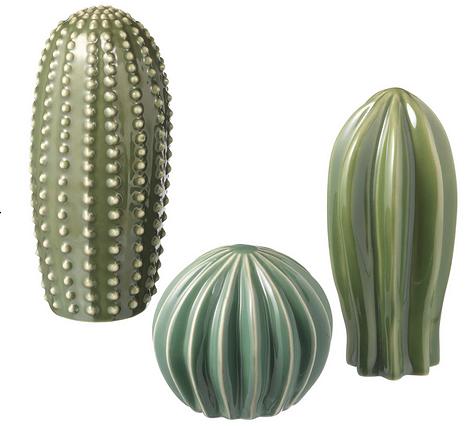 Набор украшений в виде кактусов