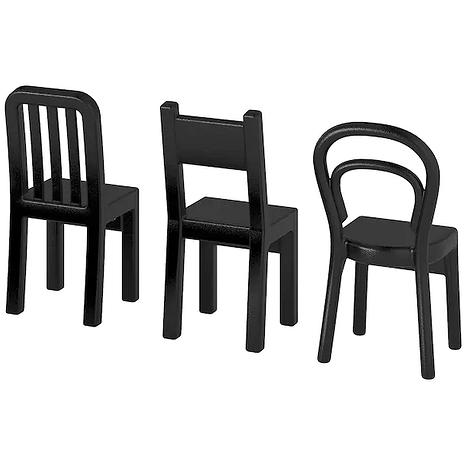 Три крючка в форме стульев