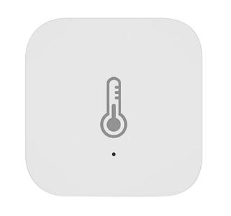 Комнатный датчик температуры и влажности