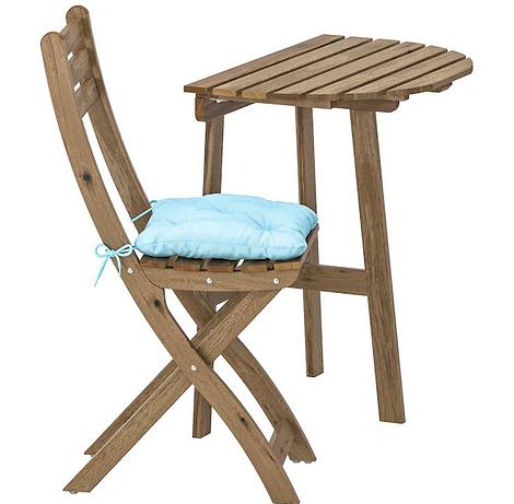 Комплект из стола и стула