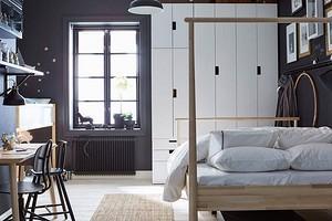 Обустраиваем функциональные зоны в маленькой квартире: 6 идей от ИКЕА