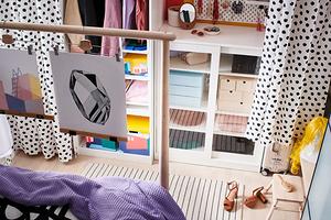 Микрогардеробные от ИКЕА: 5 оригинальных идей, которые подойдут даже самой маленькой комнате