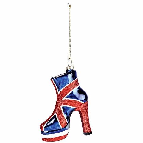 Елочная игрушка High Heel Shoe сделает ваш&...