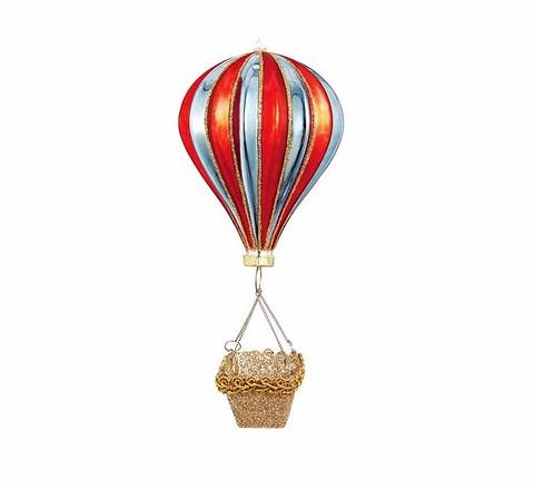 Ёлочная игрушка Hot Air Ballon украсит нов&...
