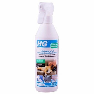 HG средство для устранения источников неприятных запахов