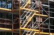 Как собрать металлические строительные леса: инструкция для рамных конструкций и сложных фасадов