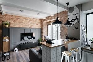 Дизайн квартиры-студии площадью 30 кв. м: 10 реальных примеров (и cпособы их повторить)