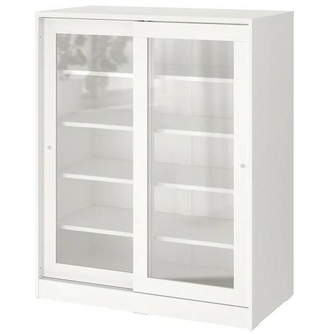 Шкаф со стеклянными дверцами ИКЕА