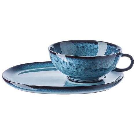 Набор посуды (кружка и блюдце) ИКЕА