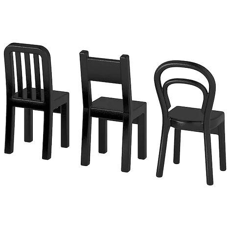 Набор крючков в виде стульев ИКЕА