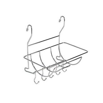 Навесная полка для бумажных полотенец на рейлинг