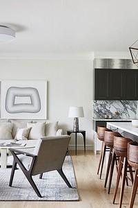 5 главных принципов дизайна кухни-гостиной площадью 30 кв. м
