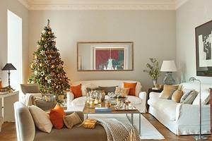 Новый год в стиле современная классика: 6 элегантных идей для декорирования интерьера