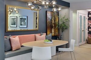 Как оформить стену над обеденным столом: 7 бюджетных и красивых вариантов