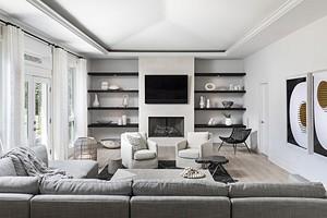 Как обыграть камин в доме: 6 вариантов дизайна и 57 фото