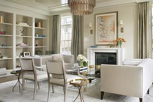Дизайн комнаты с двумя окнами: советы для 4 вариантов помещений