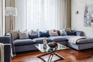 Цвет моря, песка и дерева: интерьер квартиры с атмосферой отпуска и расслабления