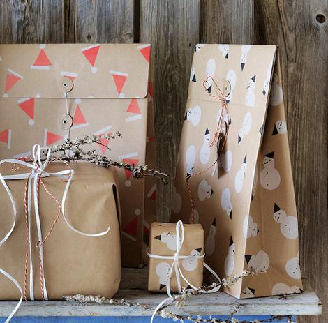 Подарочные пакеты «Винтер»